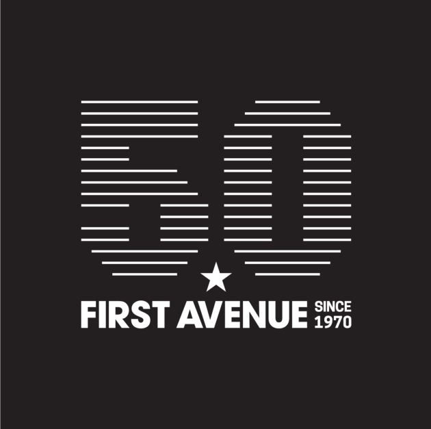 First Ave's new 50th anniversary logo for 2020.