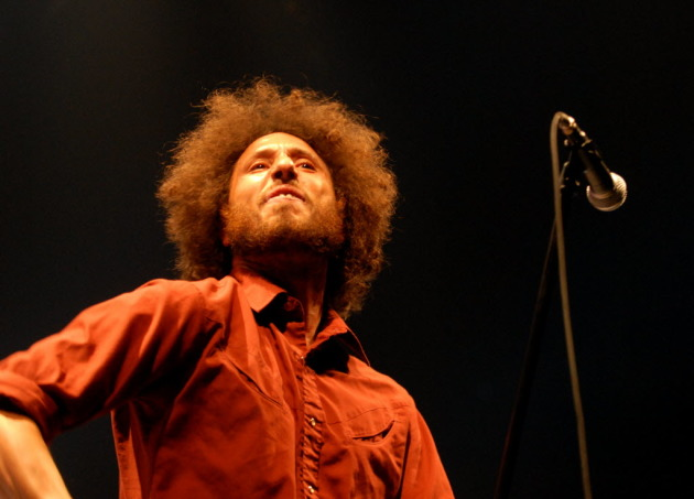 Zack de la Rocha was last in town with Rage Against the Machine at Target Center in 2008. / Star Tribune file