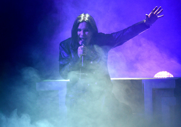 Ozzy Osbourne performed at the American Music Awards in November. / Chris Pizzello, Invision/AP