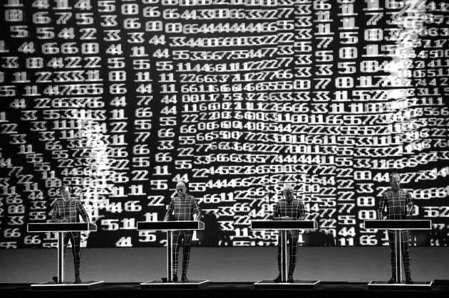 Kraftwerk's members ran the numbers at Northrop Auditorium in 2015 and determined five years would be the right time to wait for their next show in town. / Aaron Lavinsky, Star Tribune
