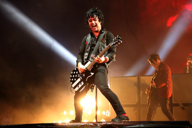 Green Day's Billie Joe Armstrong won't see his Minnesotan in-laws this summer after all. / Genaro Molina, Los Angeles Times/TNS