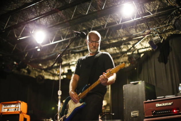 Bob Mould rehearsing in his old haunt 7th St. Entry in 2014. / Jeff Wheeler, Star Tribune