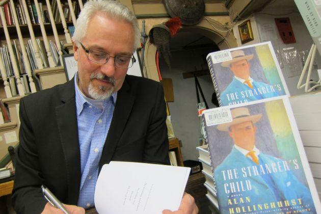Novelist Alan Hollinghurst In Minneapolis