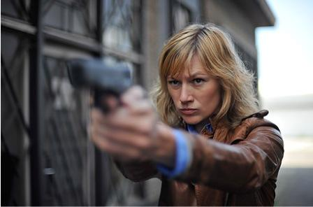 These films can;t miss. Hilde de Baerdemaker in the Belgian thriller &quot;Dossier K.&quot;