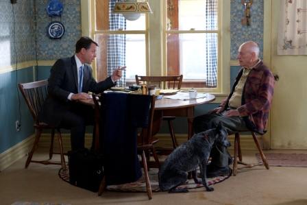 "Greg Kinnear and Alan Arkin in the locally-filmed ""Thin Ice."" Photo: ATO Pictures"
