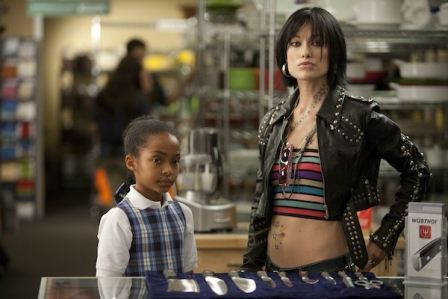 "Yara Shahidi adn Olivia Wilde in ""Butter."" Photo: The Weinstein Co."