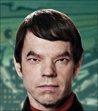 "Hugo Weaving in ""Cloud Atlas."" Photo: Warner Bros."