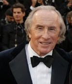 Former Formula One driver Sir Jackie Stewart at this May's Cannes Film Festival. AP photo.