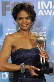 Kimberly Elise at the 42nd NAACP Image Awards in 2011. Photo: AP
