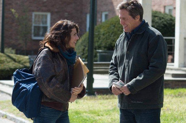 "Marisa Tomei and Hugh Grant in ""The Rewrite."" Photo: Lionsgate"
