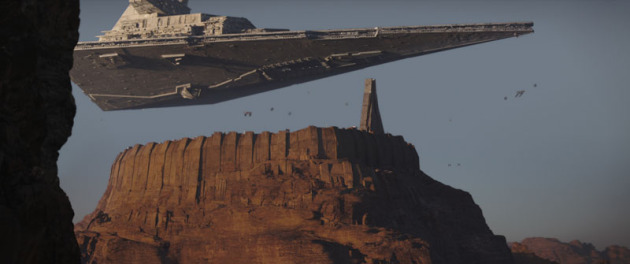 Who wants to see a dinky little Star Destroyer? Photo: Lucasfilm, Inc.