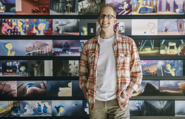 The new leader of Pixar Animation Studios, Pete Docter