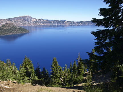 Crater Lake is the deepest lake in the United States!