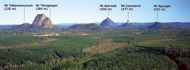 Photo taken from website: http://www.derm.qld.gov.au/parks/glass-house-mountains/about.html