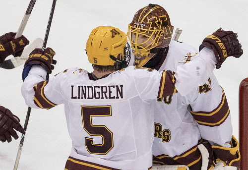 BIG10: Gophers' Defenseman Lindgren Speaks Up, And His Play Does, Too