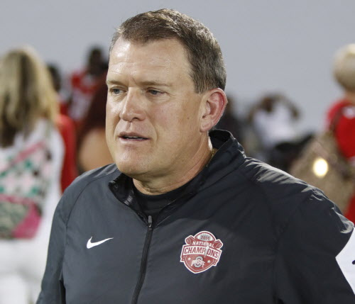 Former Ohio State offensive coordinator Ed Warinner headed to MI