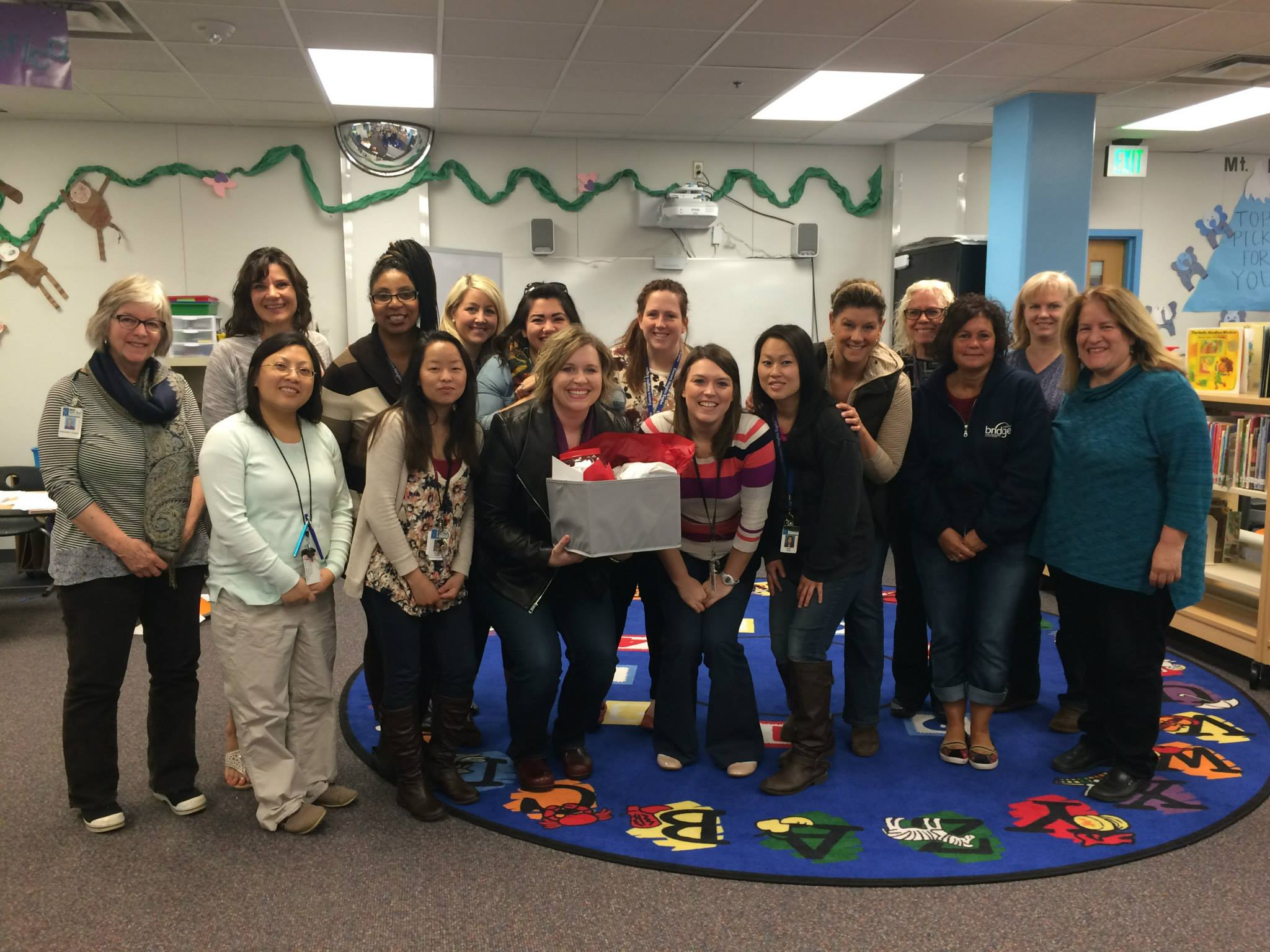 Staff at Eastern Heights Elementary
