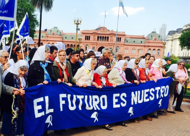 """Mothers of the Plaza de Mayo."" Photo: Daniel Bergerson."