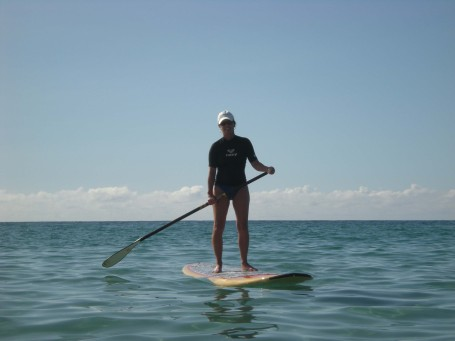 Kim Stand Up Paddle Surfing