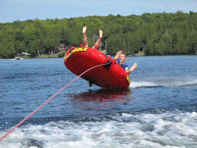Boat Tubing Injuries Up Kids Bonk Heads Adults Crash And