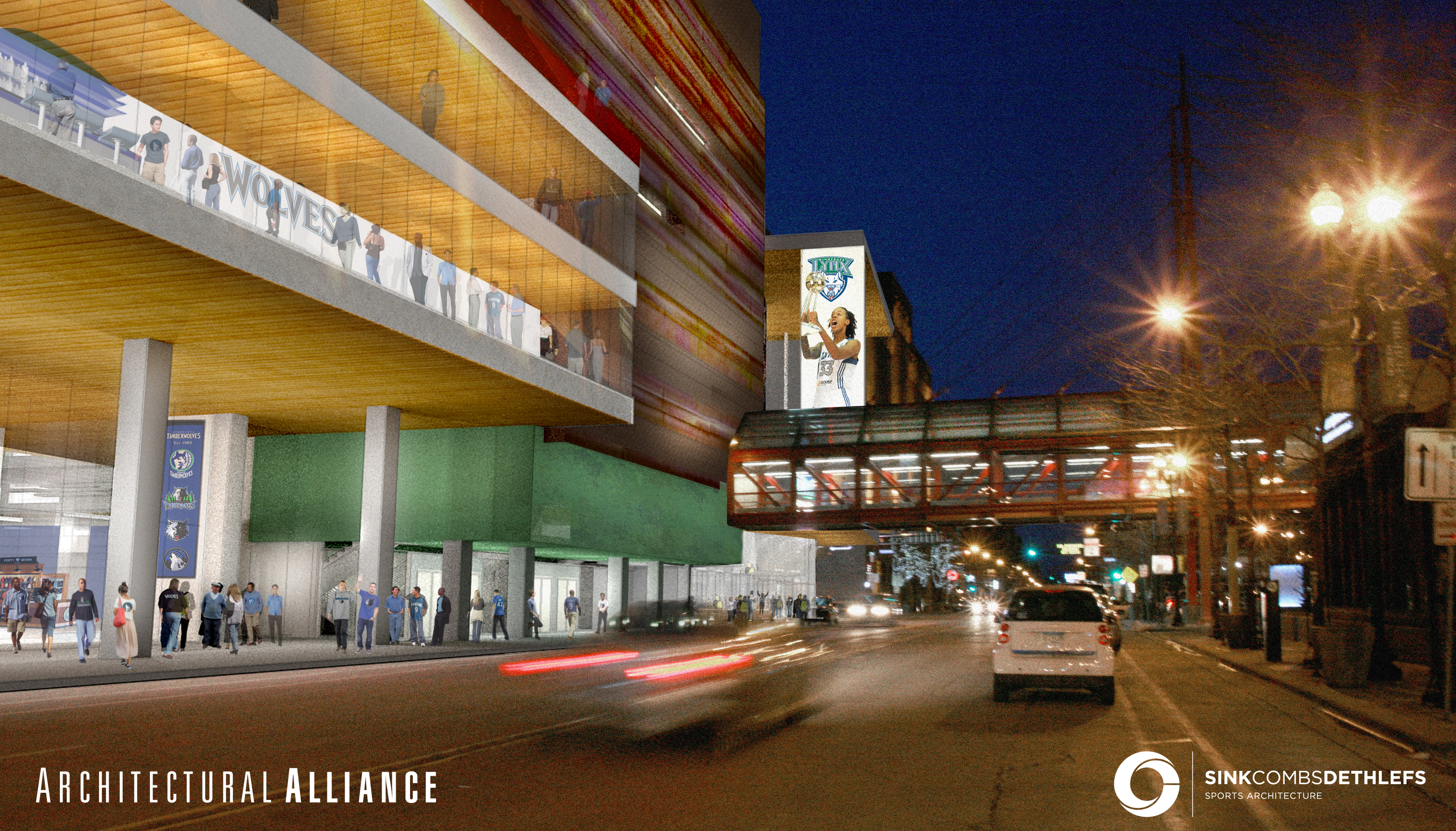 Architects chosen for Target Center renovation, renderings released ...
