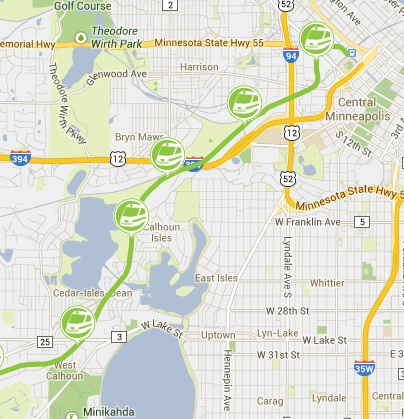 INTERACTIVE: Tour of proposed Mpls. light rail stations on SW line ...