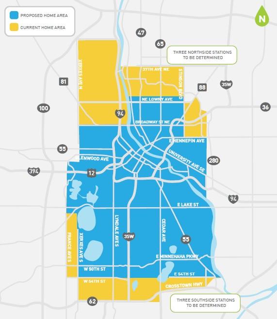 Car2Go Proposes Smaller Minneapolis Service Area