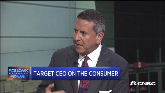 Target CEO Brian Cornell on CNBC Wednesday.