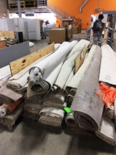 the home furnishings outlet is selling all of its carpet remnants for 40 cents per square foot that puts most of the room sized remnants 12u0027 by 10u0027