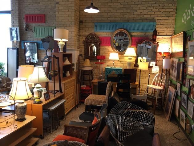Steeple People thrift store, renamed Old School, is now open in Mpls
