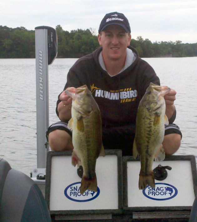 Here is a pair of good deep water bass.