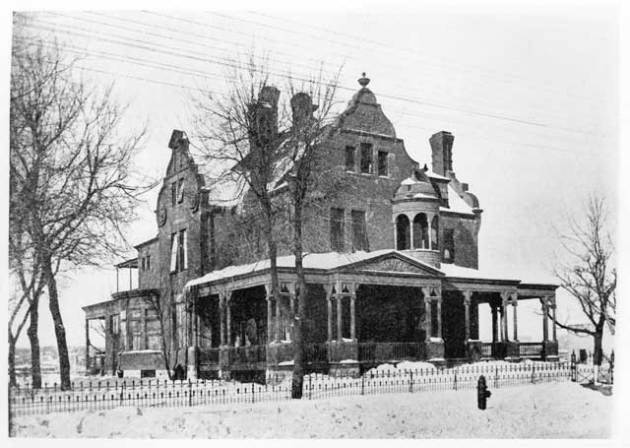 Gluek mansion on NE Marshall St. Minnesota Historical Society photo