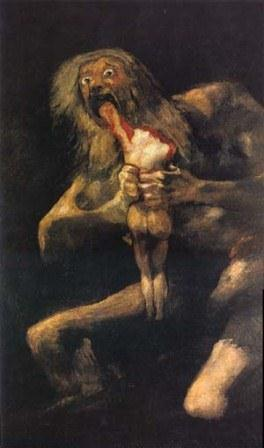 "Goya's ""Saturn Devouring his Children"""