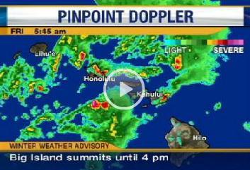 Forget The Calendar Its May More Nearrecord Warmth Next - Hawaii radar doppler