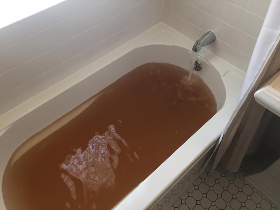 brown bathwater