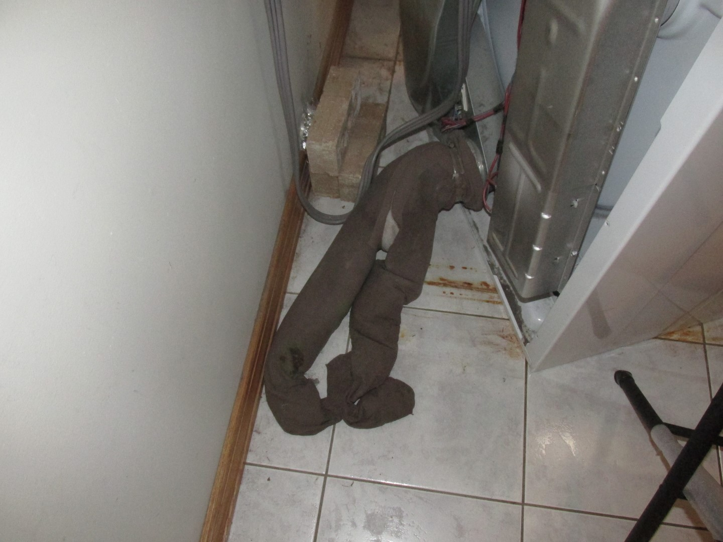 pantyhose dryer duct