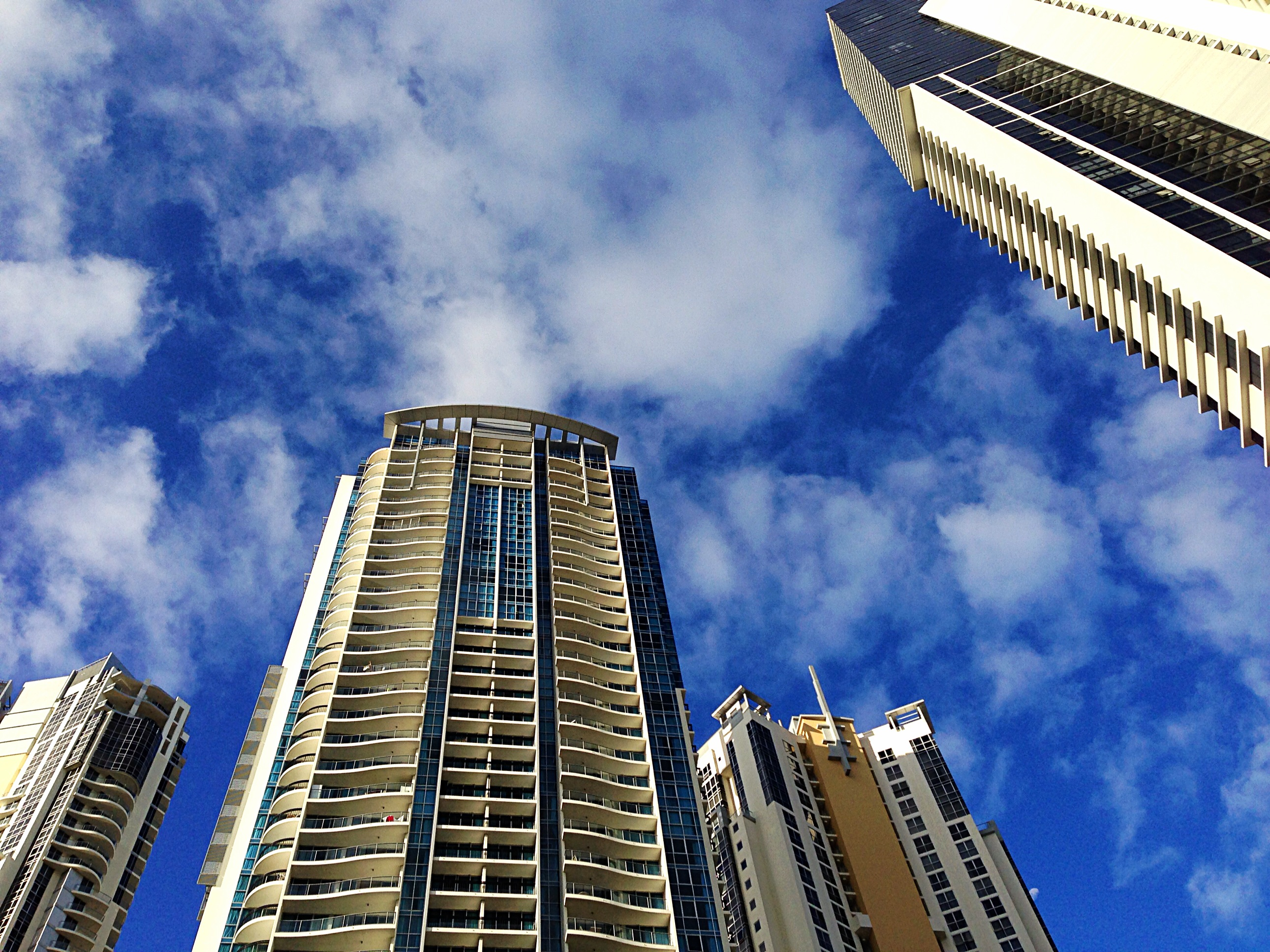High rises in downtown Surfers Paradise