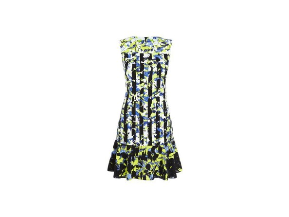 Dress Green Floral/Stripe Print, $39.99