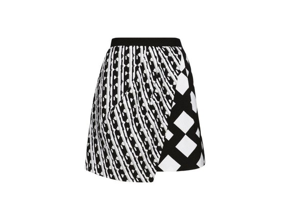 Skirt in Black/White Print, $34.99