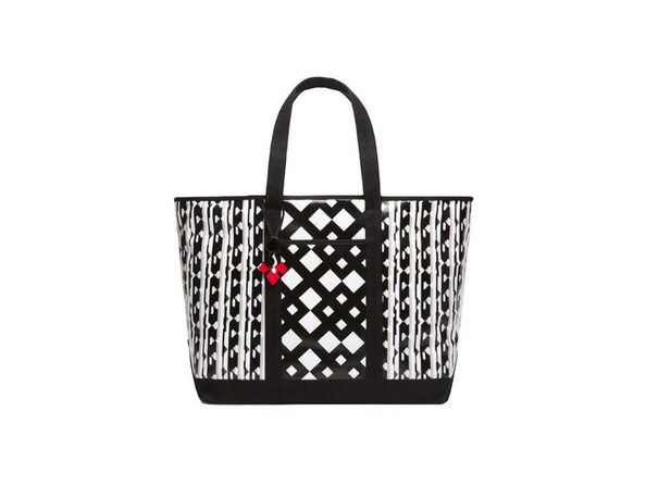 Tote in Black/White Print, $39.99