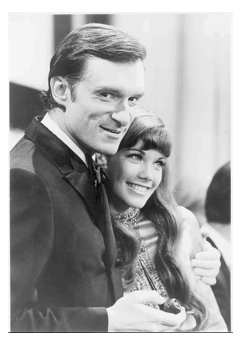 Hef & Barbi Benton, 9 million years ago