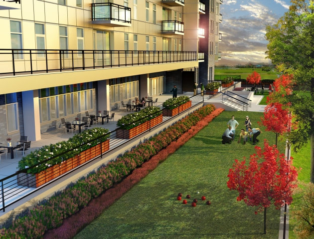A rendering of 36 Park