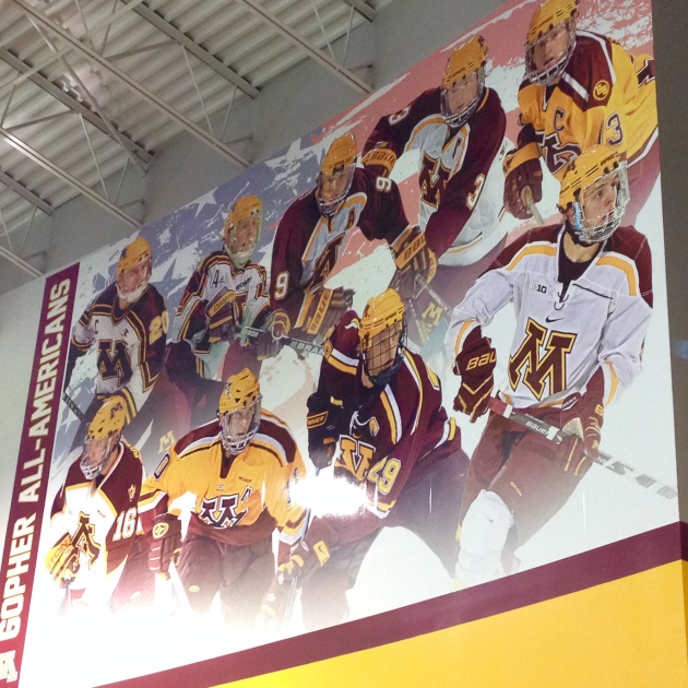 NCAA: 1st Team All-American Mike Reilly Honored Off Ice, Impressive On It As Gophers Sweep Bemidji State