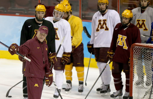 BIG10: Turns Out This Mittelstadt Guy Is Pretty Good... Gopher Topple Alberta 6-2