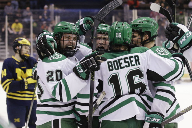 NCAA: Minnesotans Scattered Throughout College Hockey National Title Matchup