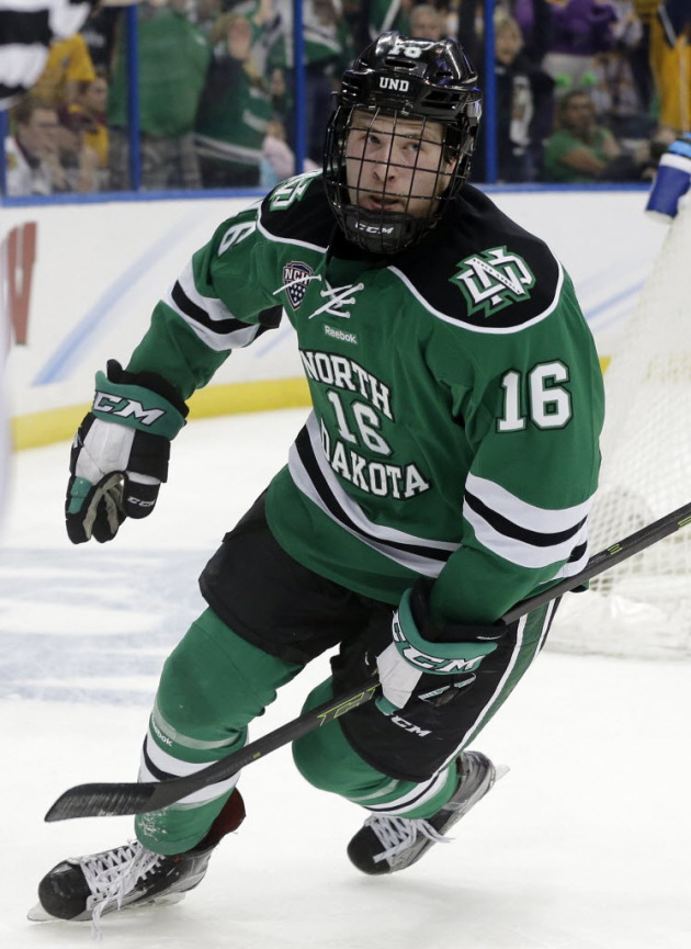 NCHC: Fighting Hawks Hockey Star Brock Boeser To Take Student With Down Syndrome To Prom