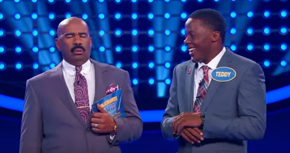 vikings bridgewater steals the show on celebrity family feud