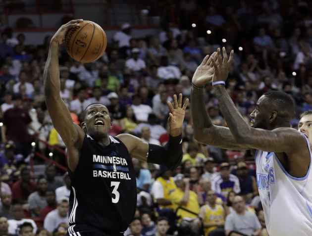 555bcf045 5 overall first-round draft pick showed off his impressive ball-handling  skills with back-to-back cross overs that dropped Denver s JaKarr Sampson  to the ...