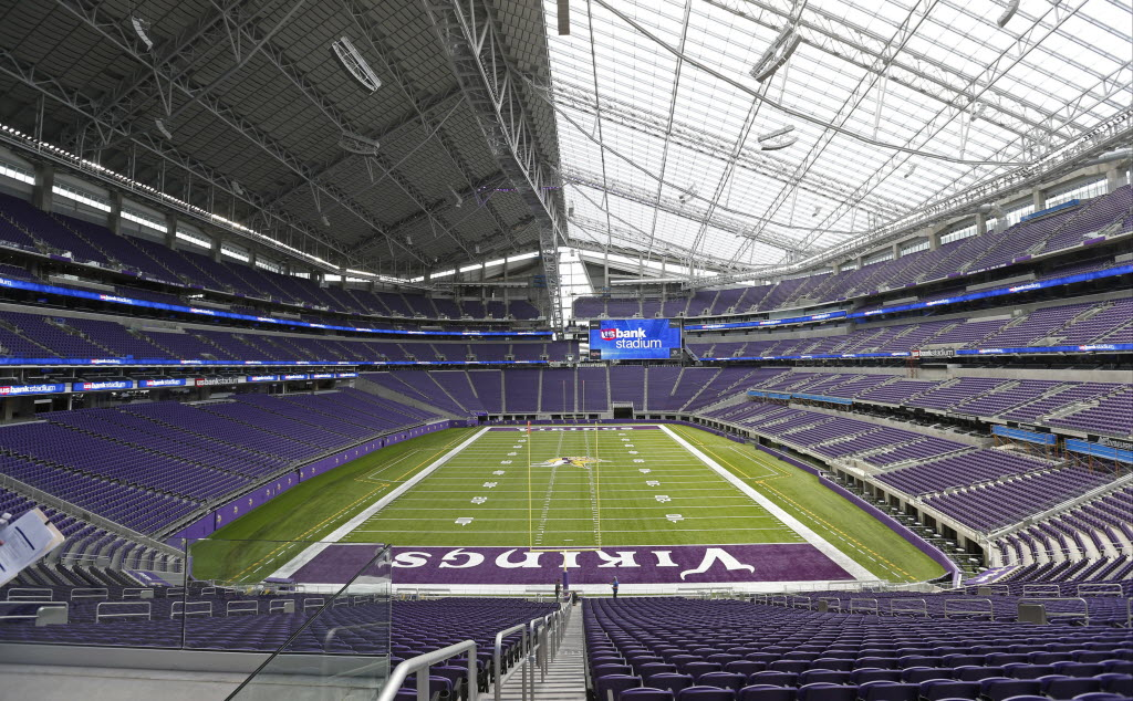 U S Bank Stadium Sold Out For Vikings 2016 Season