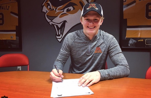 MN H.S.: Casey Mittelstadt Headlines Gophers Hockey Early Signing Class